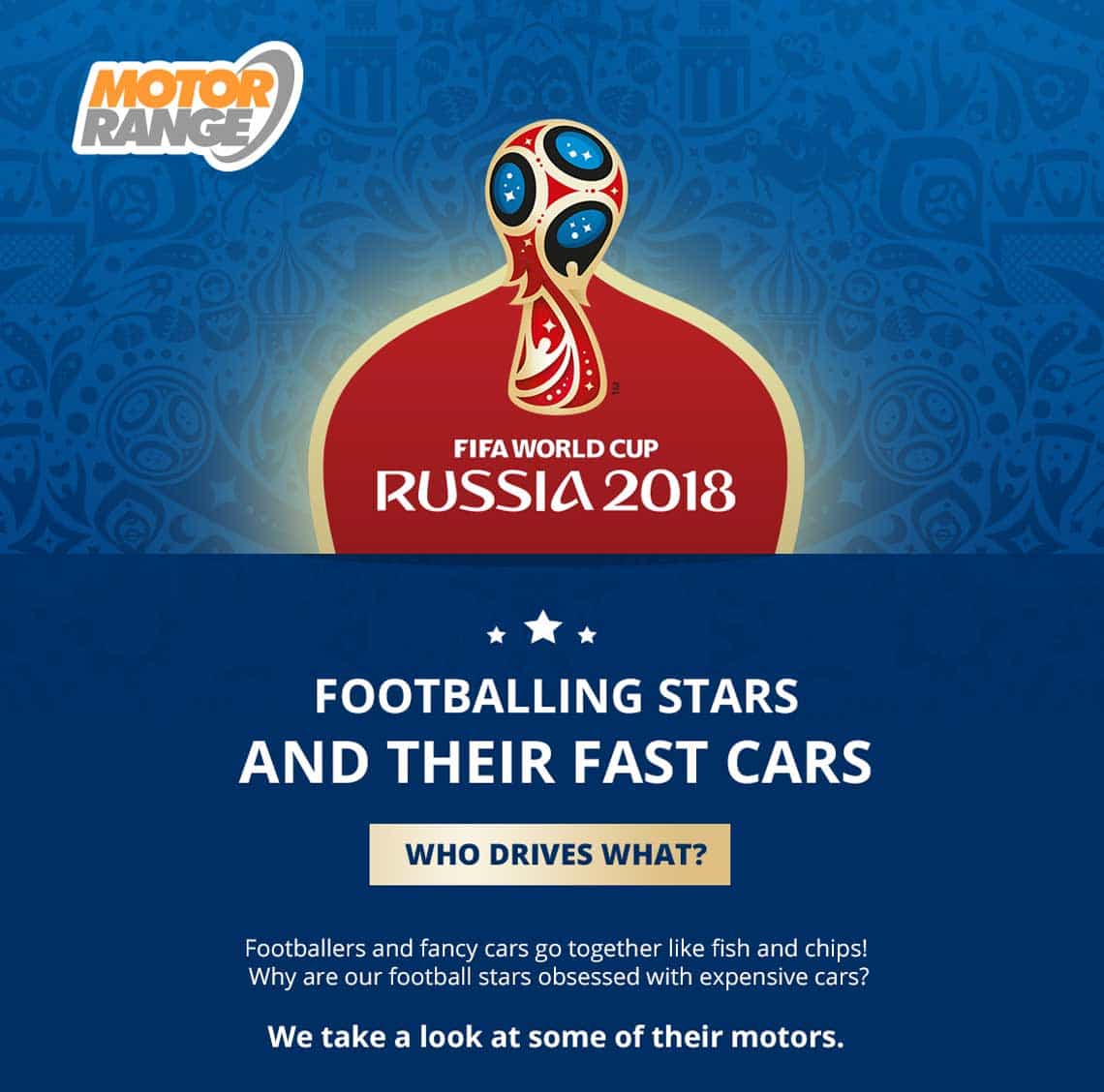 World Cup Footballers and Fun Car Facts